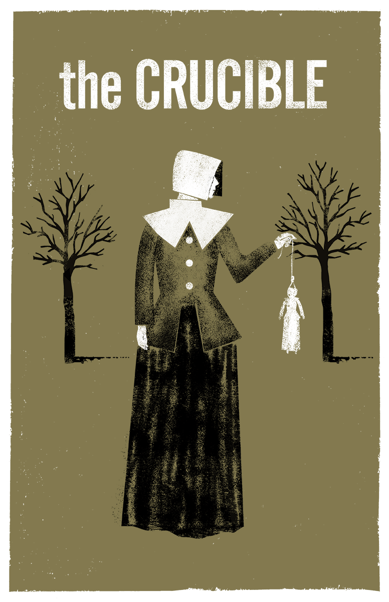 2017-18 The Crucible poster graphic