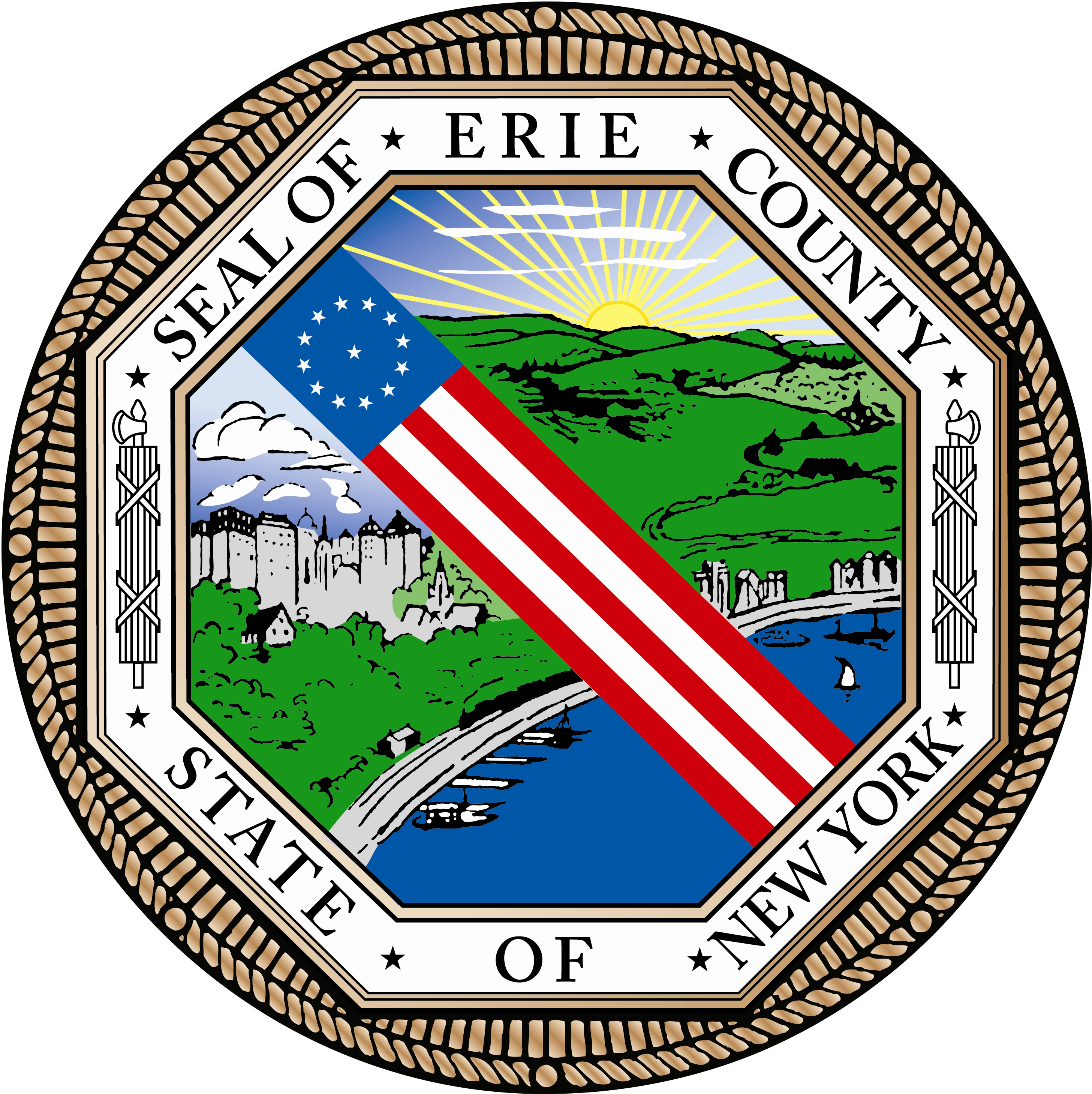 photo: erie county seal